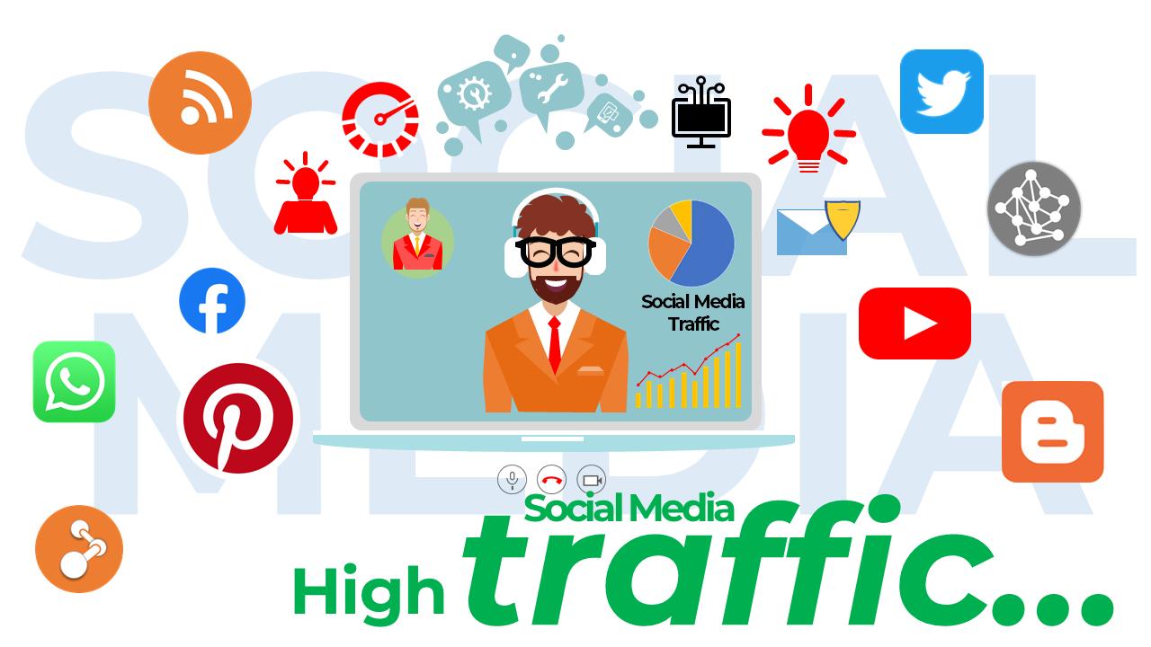 #21. SEO Helps to Increase Traffic via Social Media – Benefits of SEO