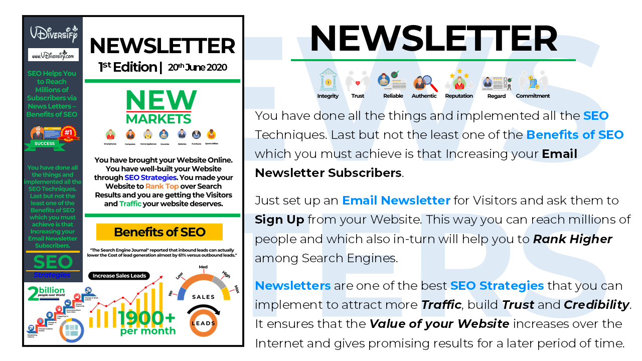 #32. SEO Helps You to Reach Millions of Subscribers via News Letters – Benefits of SEO